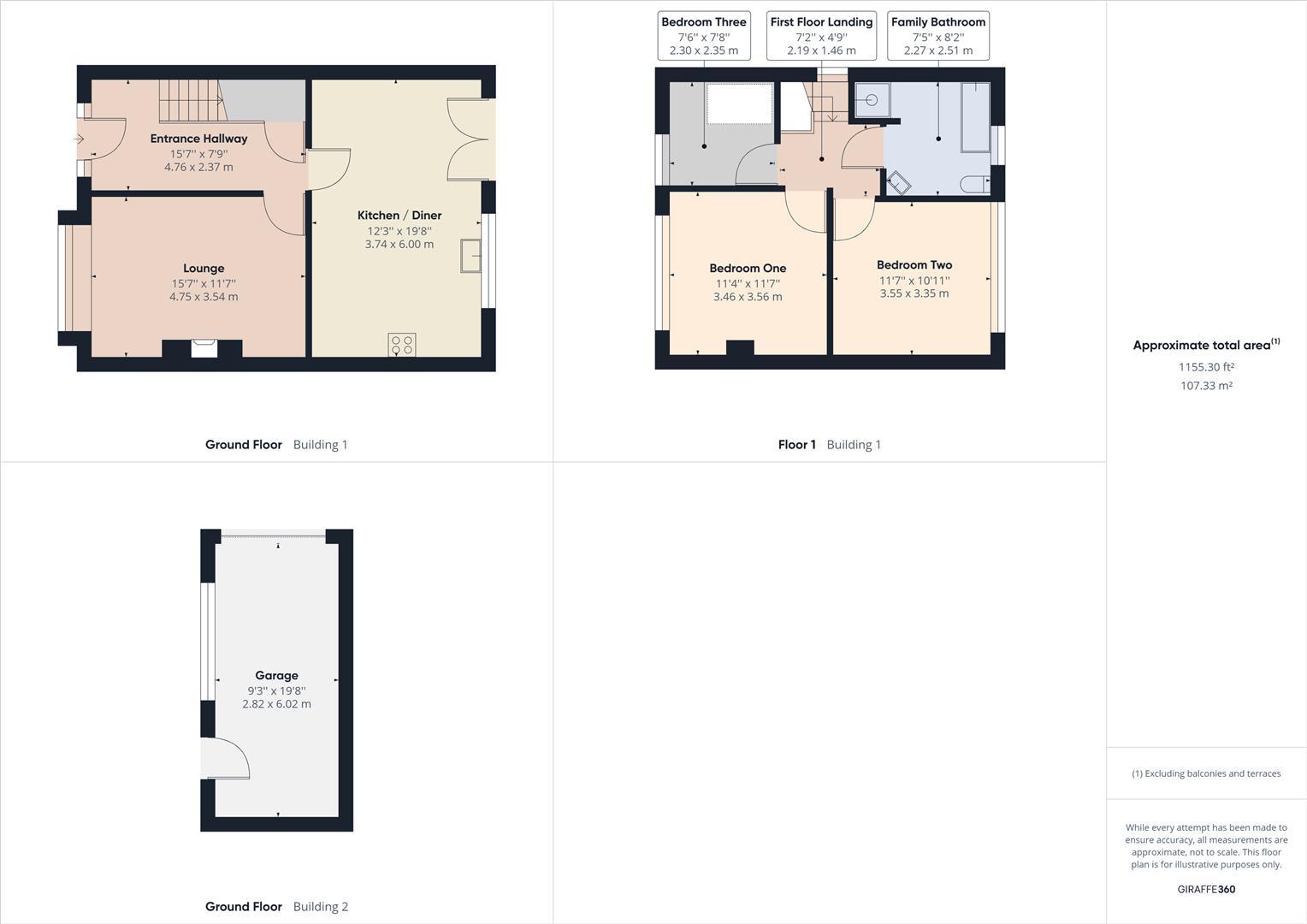 Floor Plan - All - inc garage